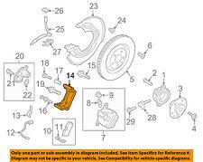 PORSCHE OEM 15-17 Macan Brake-Rear-Caliper Mount Right 95B615426D