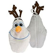 Disney Frozen Olaf the Snowman Plush Pencil Pouch / Bag with Clip - 9 inch