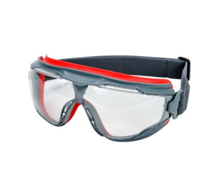 Clear 3M GG 501-EU Scotchgard Protective Safety Goggles Glasses
