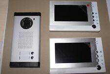 Zweifamilienhaus Farb Video Türsprechanlage mit 2 Monitor Kamera  Fotoaufnahme