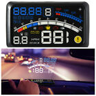 5.5-inch head-up display OBD EOBD speedometer fuel consumption alarm projection