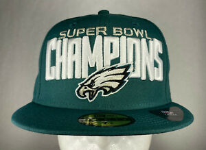 New Era NFL Philadelphia Eagles Super Bowl LII Champions 59FIFTY Fitted Hat, New