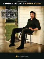 Lionel Richie Tuskegee Sheet Music Piano Vocal Guitar SongBook NEW 000102730
