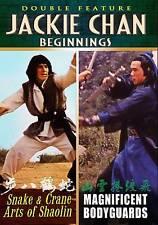 Jackie Chan Beginnings: Snake & Crane Arts of Shoalin/Magnificent Bodyguards
