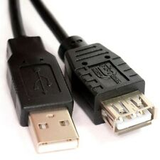1.8m USB 2.0 High Speed Cable EXTENSION Lead A Male Plug to Female Socket (2m)