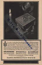 KÖLN, Werbung / Anzeige um 1934, Haus Neuerburg Güldenring Overstolz Zigaretten