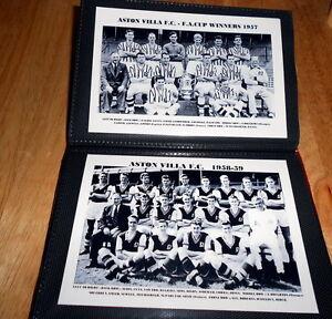 ASTON VILLA F.C.Photo Album (1950's)