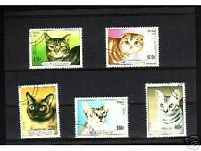 0907++TOGO   SERIE TIMBRES  CHATS