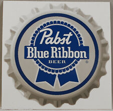 Pabst Blue Ribbon Beer Sticker, Beer decal, American brew, Stick on cars, laptop