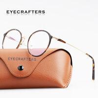 Fahsion Women Men Eyeglasses Designer Clear Lens Metal Optical Retro  Frames