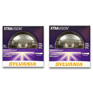 Sylvania XtraVision High Beam Low Beam Headlight Bulb for Jeep J-3500 J-100 co