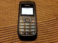 Nokia  1208 - Schwarz (Ohne Simlock) Handy
