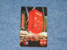 1995 Coca Cola Machine Sprint $3. Phone Card Serial #09000 Collect-A-Card E1576