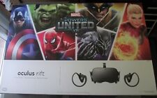 Oculus Rift Virtual Reality Headset - 2 Controllers and 2 Sensors - BOXED!