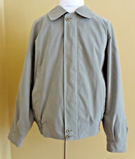 Men's VTG Burberry/Burberrys of London Bomber Harrington Sage Color Jacket sz L