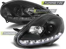 Headlights For FIAT GRANDE PUNTO 09.05-08 DAYLIGHT BLACK..
