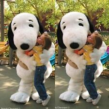 Giant Dog Mascot Costume Adult Suit Character Outfit Dress Birthday Party Game