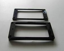 2pcs Black Humbucker Pickup Ring Curved Base Bottom Frame for Epiphone Les Paul