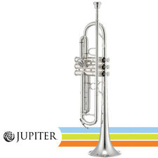NEW Jupiter JTR1100SQ Intermediate Key of Bb Silver Plated Trumpet with Case