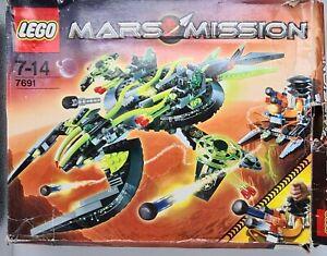 Lego Mars Mission 7691 - ETX Alien Mothership Assault - Boxed & Complete