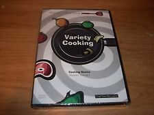 (2) American Variety Cooking Society Vol 1 Episode 1 & 3 DVDs Michael Kramer NEW