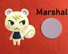 MARSHAL 264 NFC Disc/Coin Amiibo Card Animal Crossing New Horizons