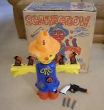 VINTAGE RARE IDEAL GAMES SCARECROW TARGET SHOOTING GAME  WITH ORIGINAL BOX!