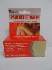 Coralite Ultra Strength Pain Relief Balm Non-Staining Exp. 04/21