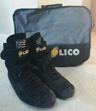 Lico by Sparco Motorsport Race Boots FIA Approved Size 10 Rally/Racing/Hillclimb