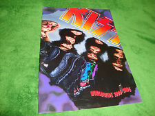 KISS WORLDWIDE 1995 JAPAN TOUR PROGRAM eric singer/bruce kulick free US shipping