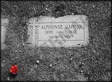 Al Capone Mafia tumba marcador gran impresión del arte cartel Lf3641