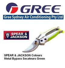 Spear & Jackson Colours 56526G Bypass Secateurs - Green