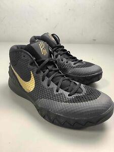 Men's Nike Kyrie I-D 1 Black & Gold Shoes Size 11