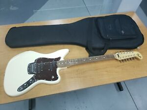 FENDER ALTERNATE REALITY ELECTRIC XII! MINT! OLY WHITE WITH HSC INCLUDED W/BIN!