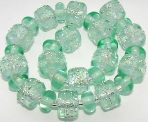 "Sistersbeads ""E""-Refresh"" Handmade Lampwork Beads"