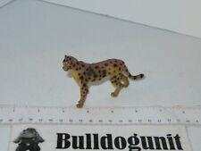 Cheetah Cat Plastic Figure Toy Animal PVC Figurine 2011