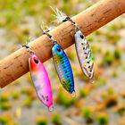 Leurres de pêche en métal à plumes Appâts tournants Jig Bait Coulée de plomb
