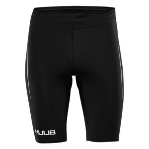 HUUB DS Triathlon Shorts Black - Cycling Shorts Swim Bike Run Shorts