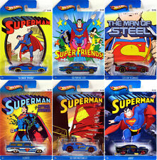 2013 Hot Wheels Kroger Exclusive *Superman* Complete Set in CLAM SHELLS!