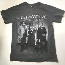 Fleetwood Mac On With The Show 2014-2015 Concert Tour Shirt Gray Size Small