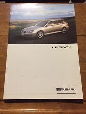 Catalogue Brochure Subaru Legacy