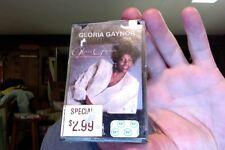 Gloria Gaynor- self titled- 1982- new/sealed cassette tape- plastic torn & loose