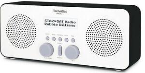 TechniSat VIOLA 2 S tragbares DAB+ Stereo Digitalradio, Kopfhörer, Aux-In, 4W
