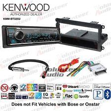Kenwood KMM-BT325U Media Player Car Radio Install Mount Kit Bluetooth Pandora