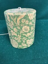 Vintage String / Twine / Yarn Holder/  Cylinder Shape/ Floral Design