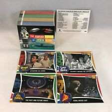 THE FANTASY WORLDS OF IRWIN ALLEN Complete Card Set TIME TUNNEL, LOST IN SPACE