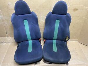93-97 Honda Civic DEL SOL si Confetti bucket seats Green 0102
