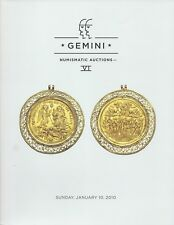 GEMINI Numismatic auction 6 CATALOGO ASTA 2010 Ancient and World COINS