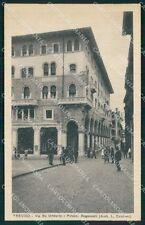 Treviso Città Palazzo Bogoncelli Candiani cartolina QT3943