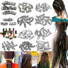 10 Type Hair Braid Beads Dreadlock Bead Cuff Clip Metal Hair Braid Rings Jewelry